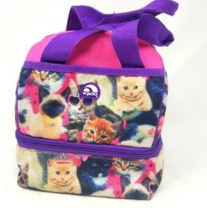Igloo Cat Double Compartment Girl's Lunch Box